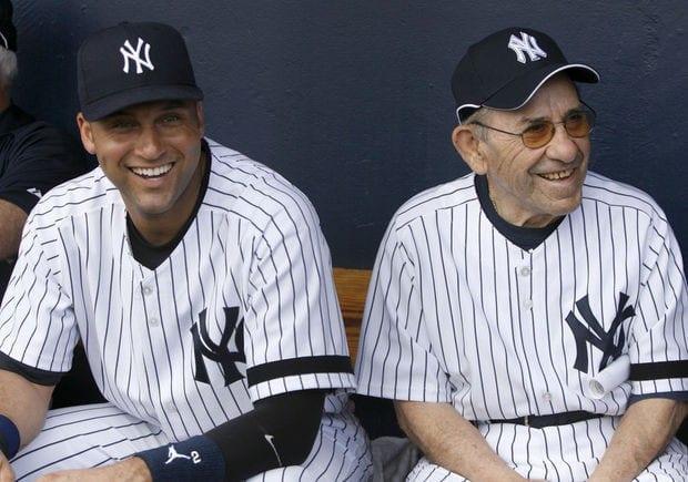 Yankees Lineup of Retired Numbers