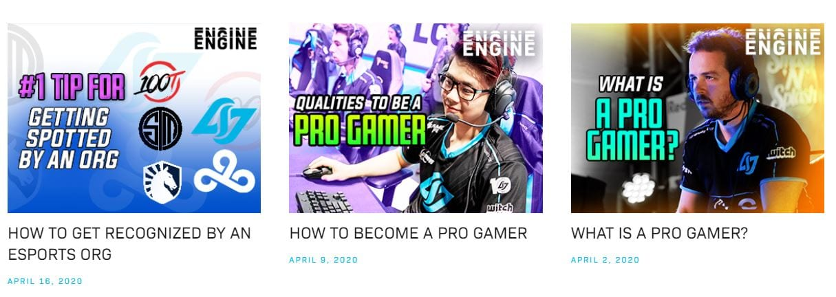CLG Engine is a video series at CLG.gg