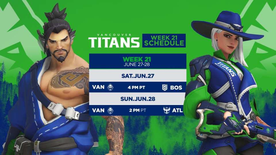 Vancouver Titans Week 21