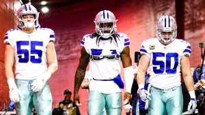 Leighton Vander Esch Jaylon Smith Sean Lee