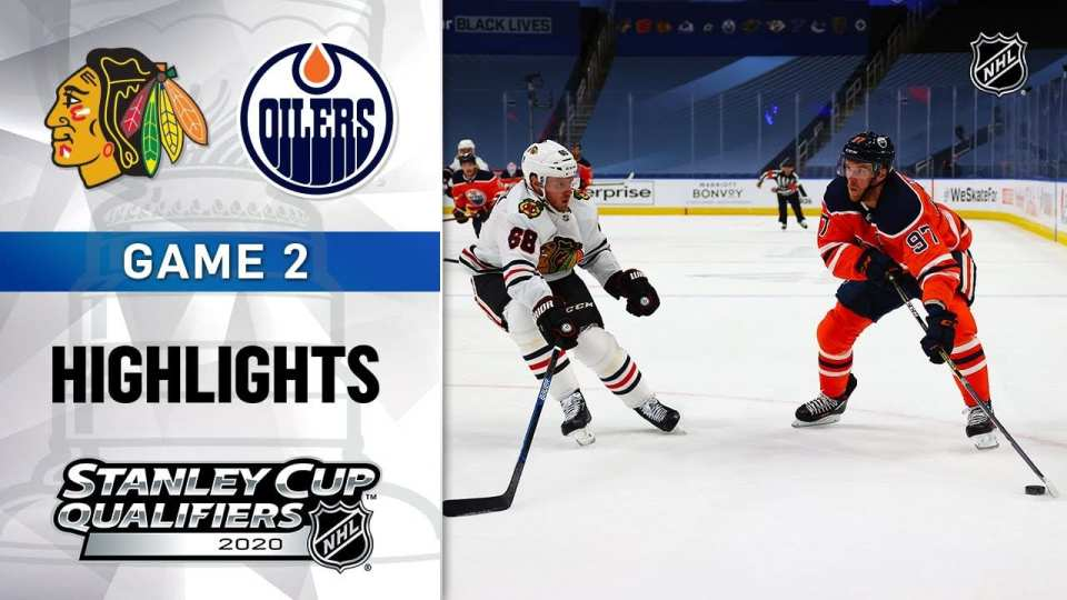 Chicago Blackhawks vs. Edmonton Oilers game recap.