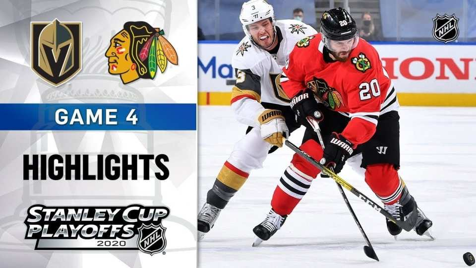 Chicago Blackhawks vs. Vegas Golden Knights game recap