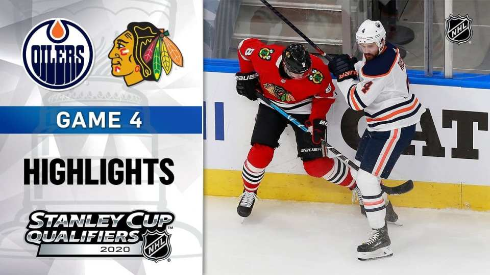 Chicago Blackhawks vs. Edmonton Oilers game recap.