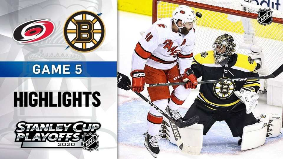 Boston Bruins vs. Carolina Hurricanes game recap