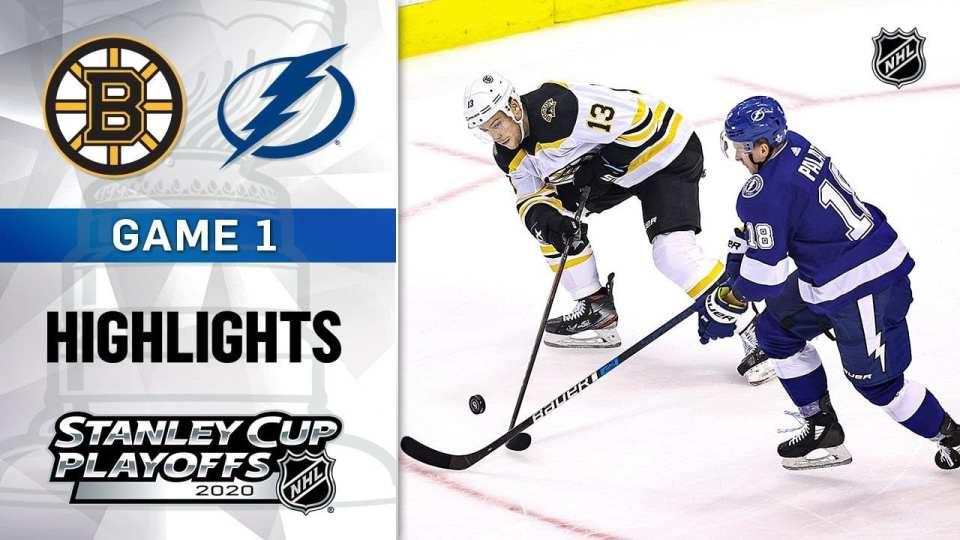 Boston Bruins vs. Tampa ay Lightning game recap