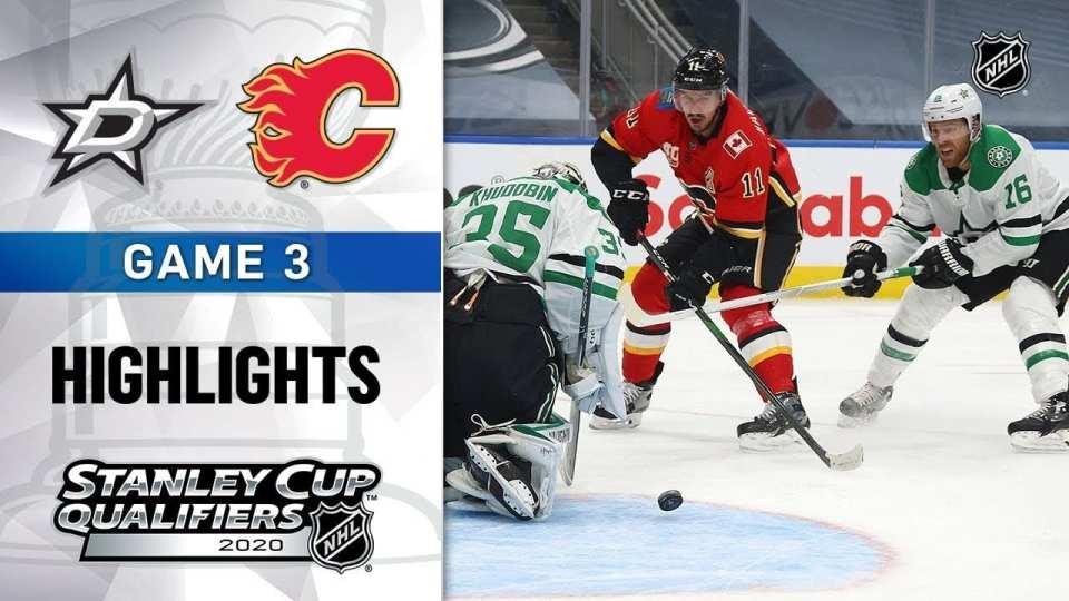 Calgary Flames vs. Dallas Stars game recap