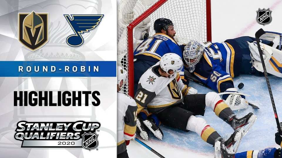 Vegas Golden Knights vs. St. Louis Blues game recap.