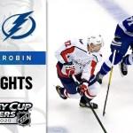 Tampa Bay Lightning vs. Washington Capitals game recap.