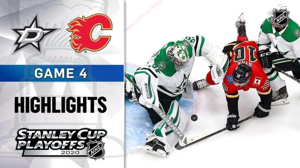 Dallas Stars vs. Calgary Flames game recap