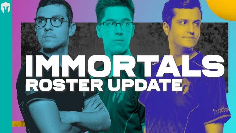 Immortals released Altec, sOAZ, Eika, Gate, and GoToOne.