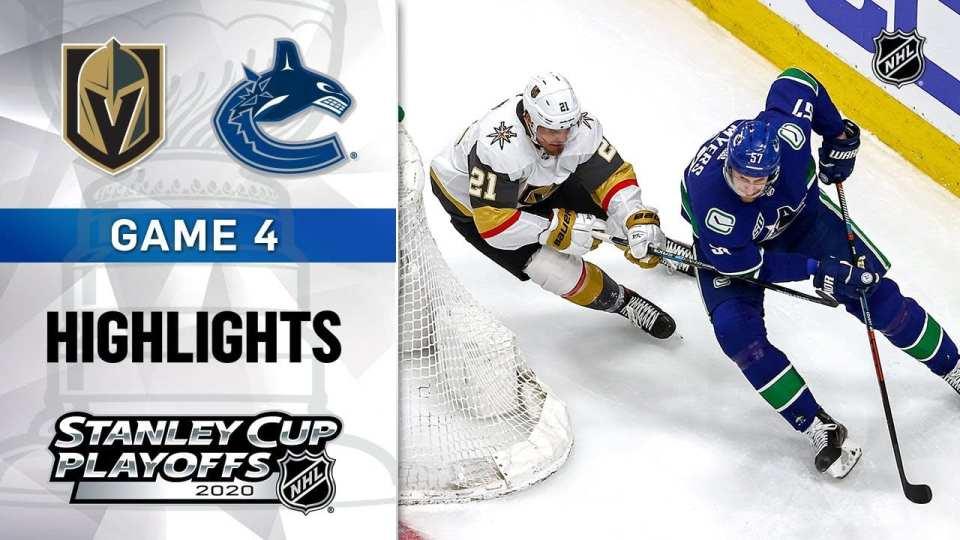 Vegas Golden Knights vs. Vancouver Canucks game recap