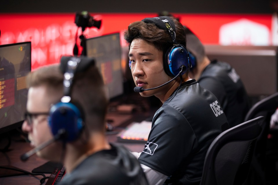 Gladiators part ways OGE