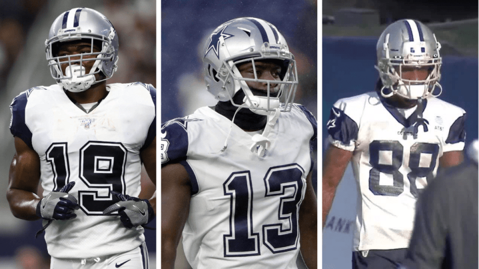 Do the Cowboys have the Best Receiving Trio?