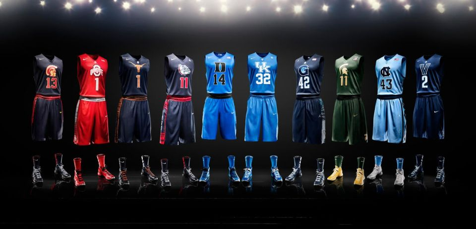 Ranking the top 10 Uniforms in College Basketball