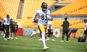 Steelers TE Eric Ebron
