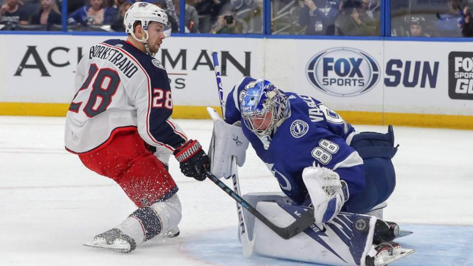 Blue Jackets vs. Tampa