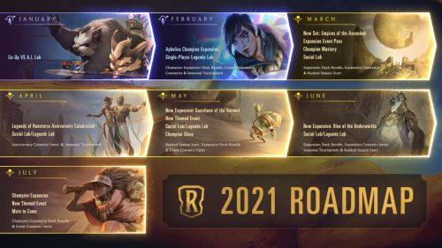 2021 Roadmap Legends Runeterra