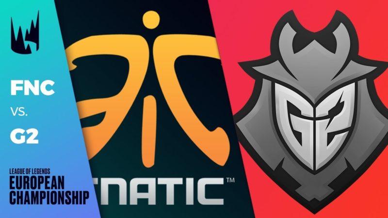 Fnatic Versus G2 Rivalry