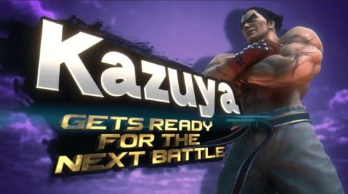 Kazuya Super Smash Bros