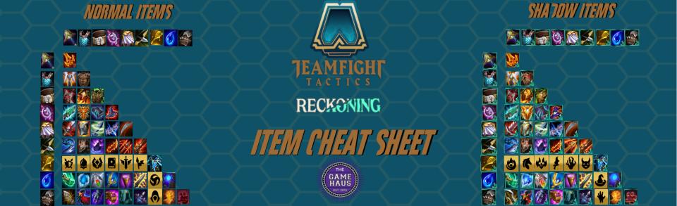 TFT Item Cheat Sheet Set 5
