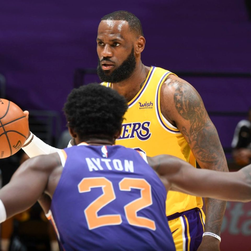 Lakers Suns preview