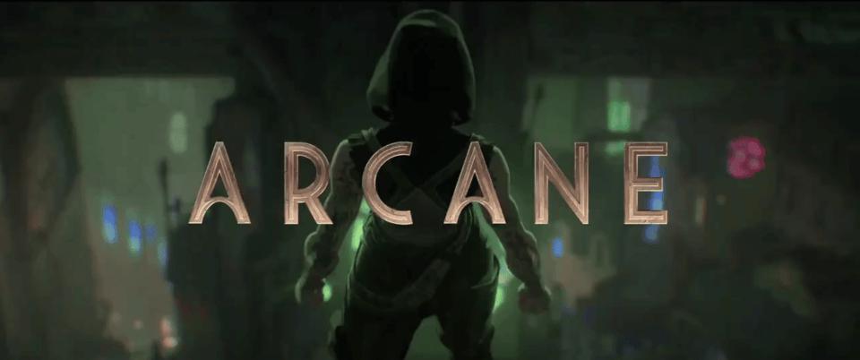 Arcane League of Legends Netflix