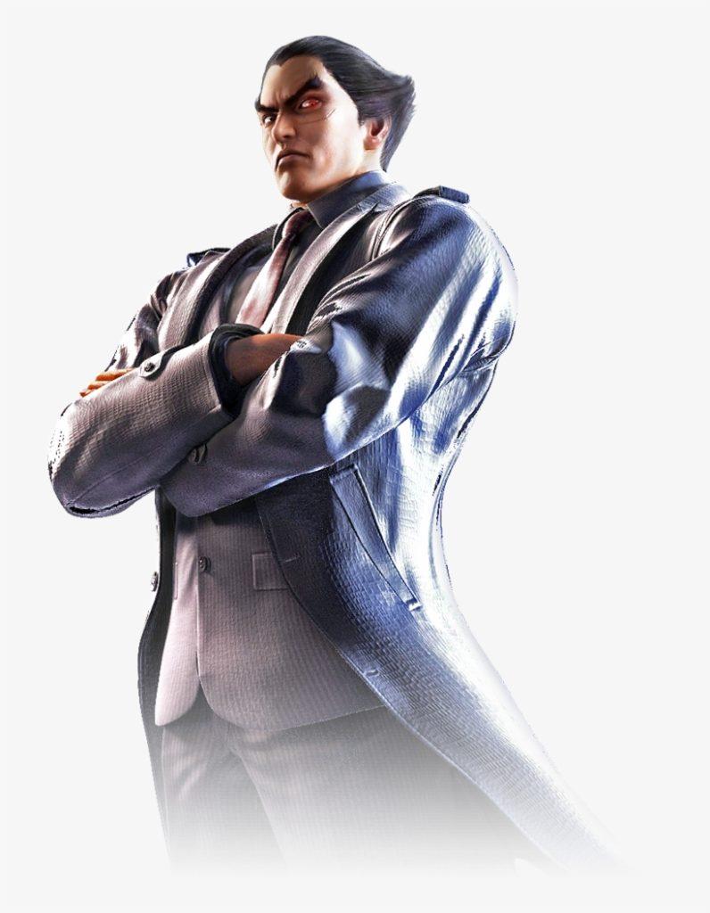 Kazuya Mishima official artowrk in Tekken 7