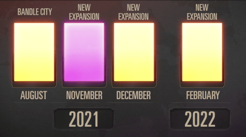 Legends of Runeterra 2021 Timeline