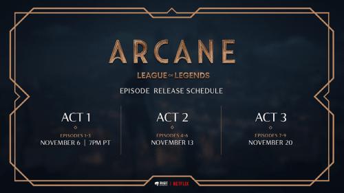 lol Arcane Release Date