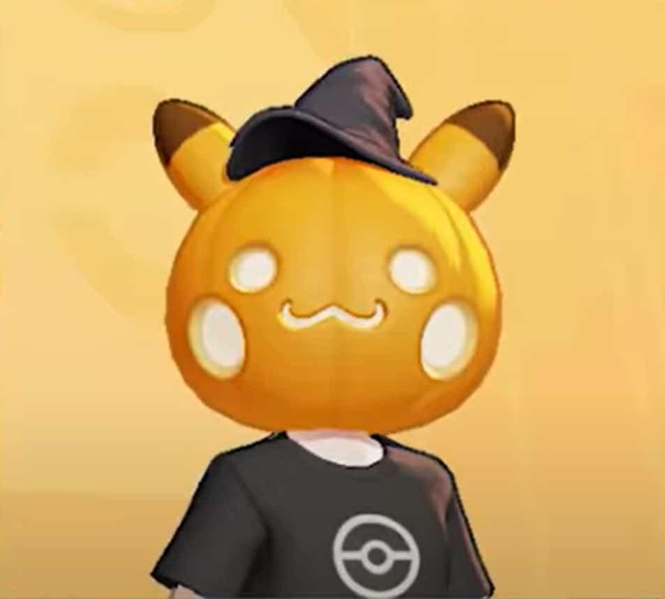 Pokemon Unite Halloween Leaks
