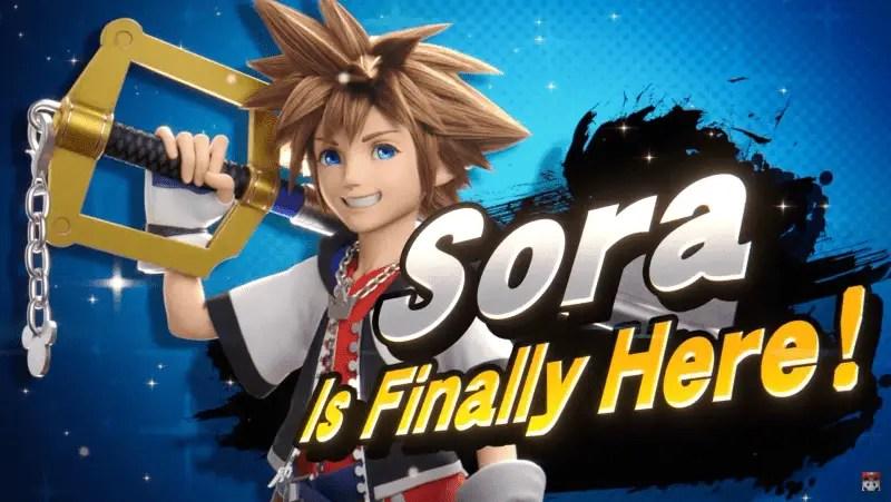 Sora Super Smash Bros