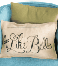 """Source: """"Like Belle"""" Pillows"""