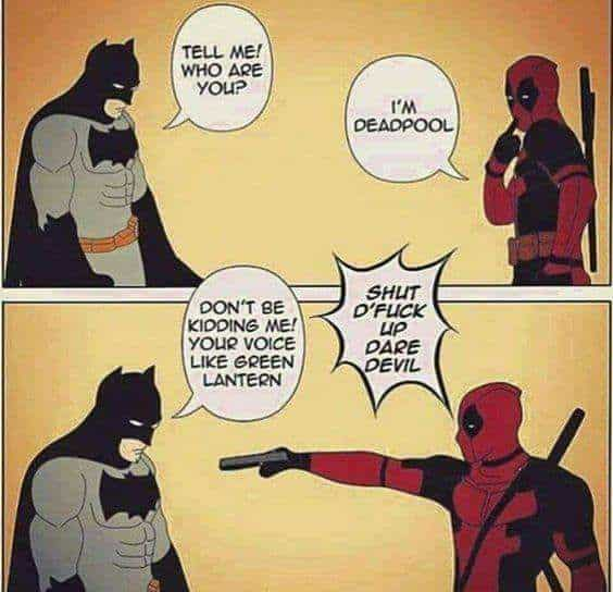 Deadpool Vs Batman