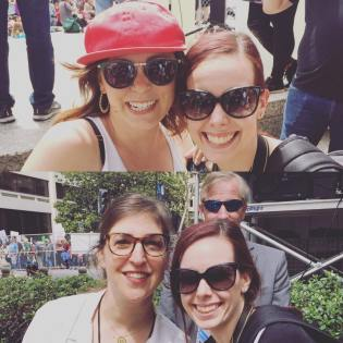 The March for Science with Rachel Bloom, Mayim Bialik with TGON Owner Shannon Parola