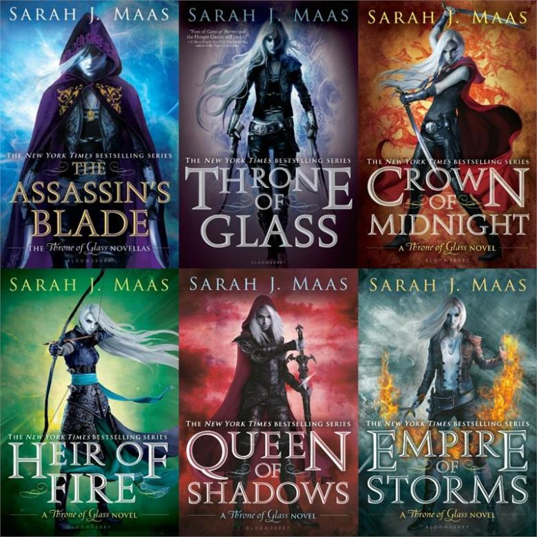 Throne OF Glass Collage