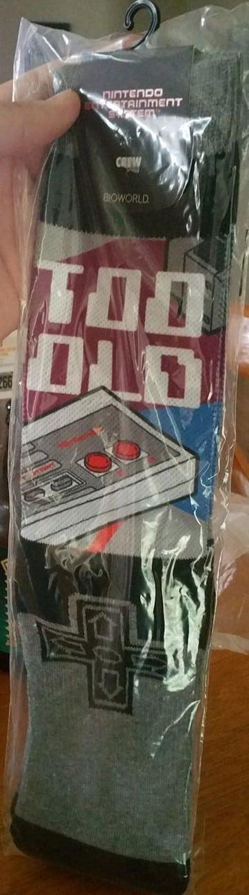 Nintendo Socks