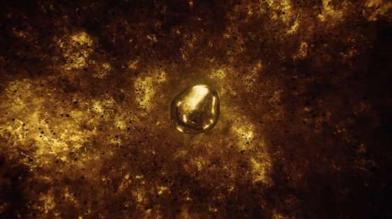 308 molten gold orb