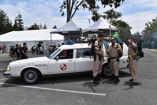 The Bay Area Ghostbusters Chapter Source: Shannon Parola