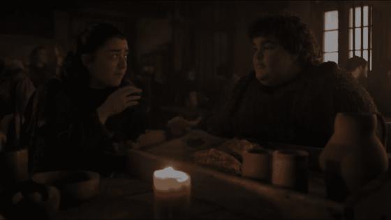 Arya and Hotpie