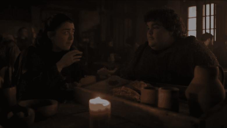 Arya and Hotpie