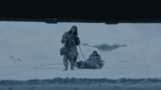 Bran at the wall