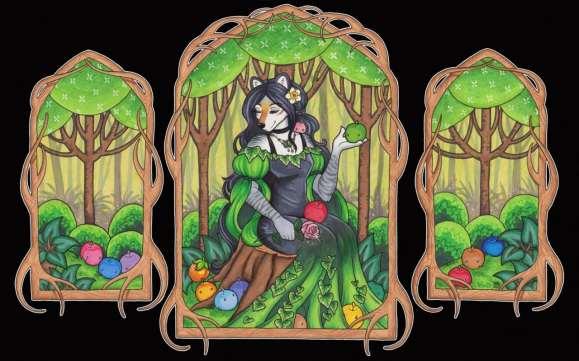 In The Deep Woods - Luthien Nightwolf