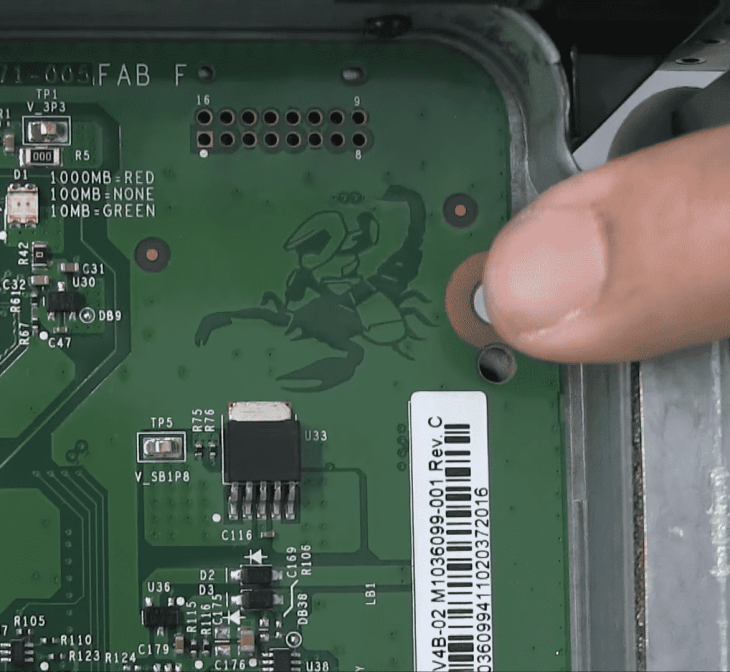 Chip Screenshot closeup