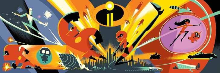 Incredibles 2 Teaser Art
