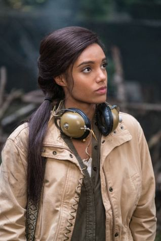 Maisie Richardson-Sellers as Amaya Jiwe/Vixen. Photo courtesy of DC Legends TV.