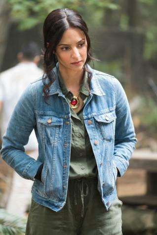 Tala Ashe as Zari. Photo courtesy of DC Legends TV.