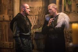 Dominic Purcell as Mick Rory/Heat Wave (left) and Wentworth Miller as Leo -- X/Citizen Cold (right). Photo courtesy of DC Legends TV.