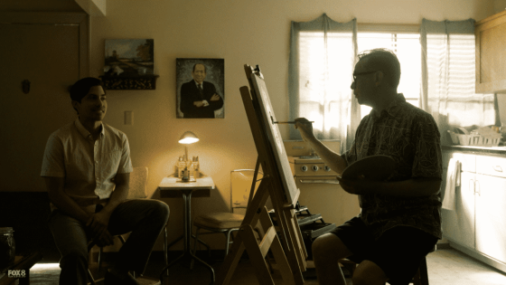 fred painting