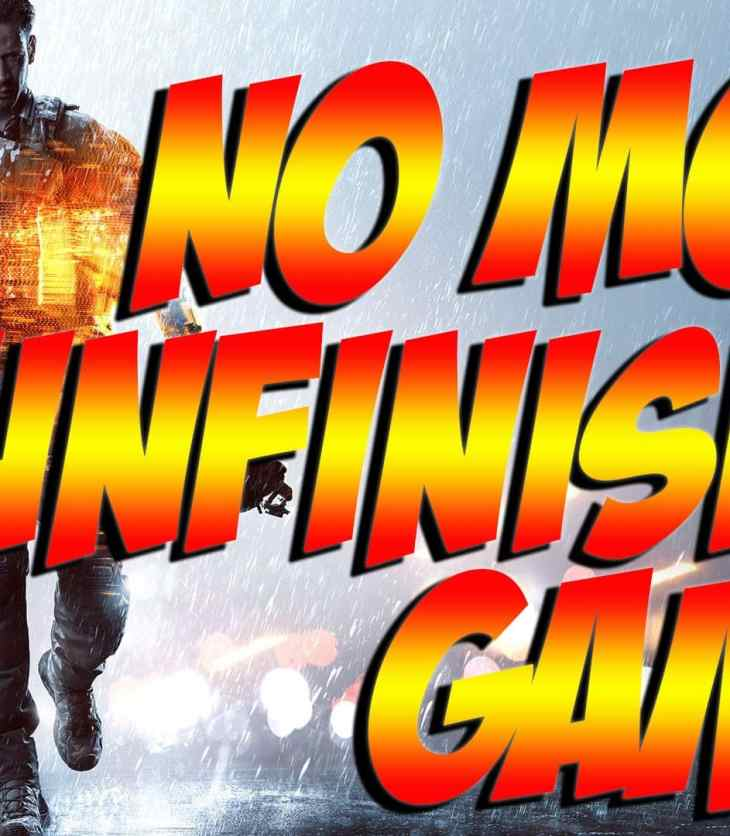 No More Unfinished Games