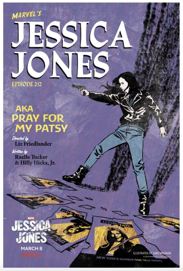 Jessica Jones 212 Poster